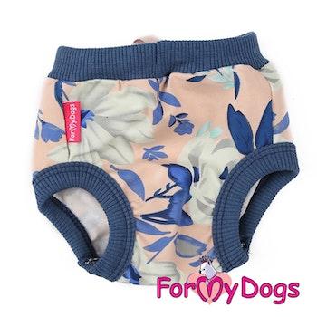"Tikskydd ""Blue Lilies"" För tik ""For My Dogs"""