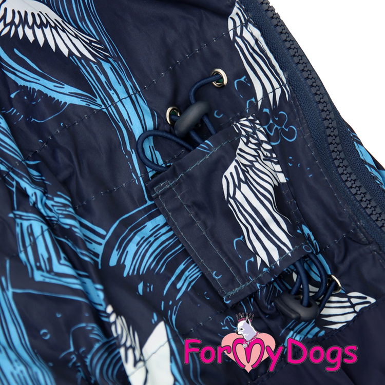 """Regnoverall """"Blue Wings and Waves"""" Hane """"For My Dogs"""""""