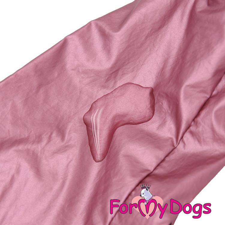 """Regnoverall """"Two Times Pink Metallic"""" Tik """"For My Dogs"""""""