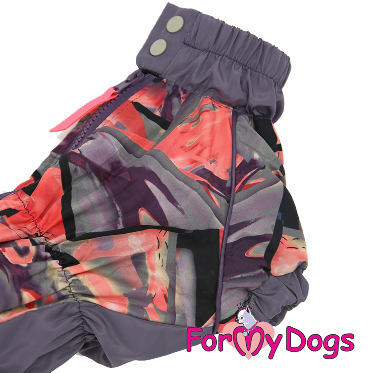 """Regnoverall """"Purple Pinkvaganza"""" Tik """"For My Dogs"""""""