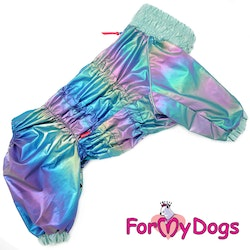 "Regnoverall ""Multicolour Metallic"" Hane ""For My Dogs"""