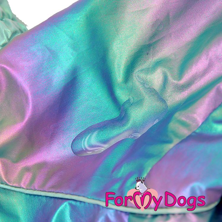 "Regnoverall ""Multicolour Metallic"" Hane ""For My Dogs"""