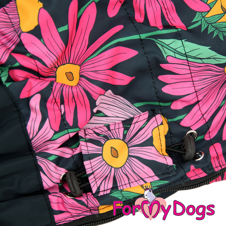 """Regnoverall """"Black Daisies"""" Tik """"For My Dogs"""""""