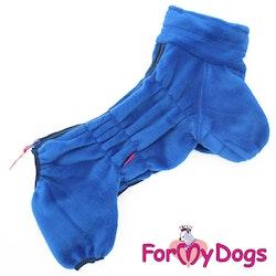 """Fleeceoverall """"Blå Plysh"""" Hane """"For My Dogs"""""""