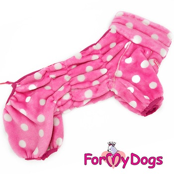 "Varm pyjamas overall ""Rosa Prick"" Tik ""For My Dogs"""