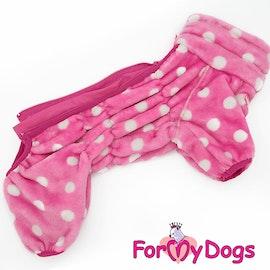 """Varm pyjamas overall """"Rosa Prick"""" Tik """"For My Dogs"""""""