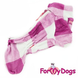 "Varm pyjamas overall ""Rosa Ruta"" Tik ""For My Dogs"""