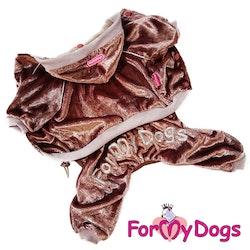 "Mysdress pyjamas overall ""Kopparglans"" UNISEX ""For My Dogs"""