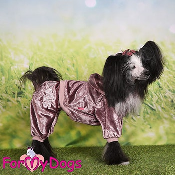 "Mysdress pyjamas overall ""Kopparglans"" UNISEX ""For My Dogs"""