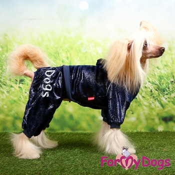 "Mysdress pyjamas overall ""Indigoglans"" UNISEX ""For My Dogs"""
