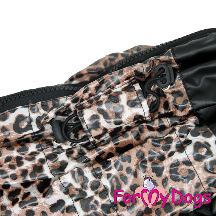 """Regnoverall """"Leopard"""" Hane """"For My Dogs"""""""