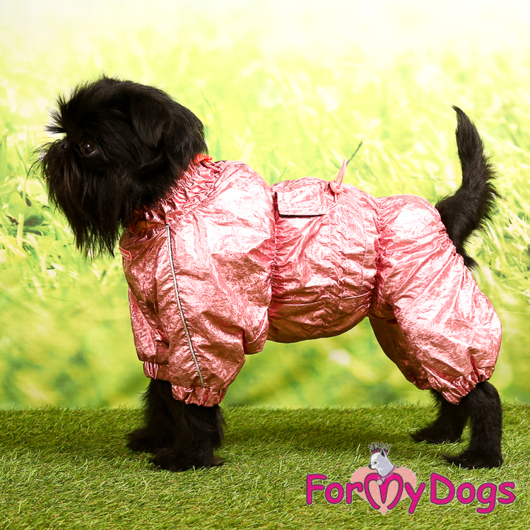 """Regnoverall """"Pink Metallic"""" Tik """"For My Dogs"""""""