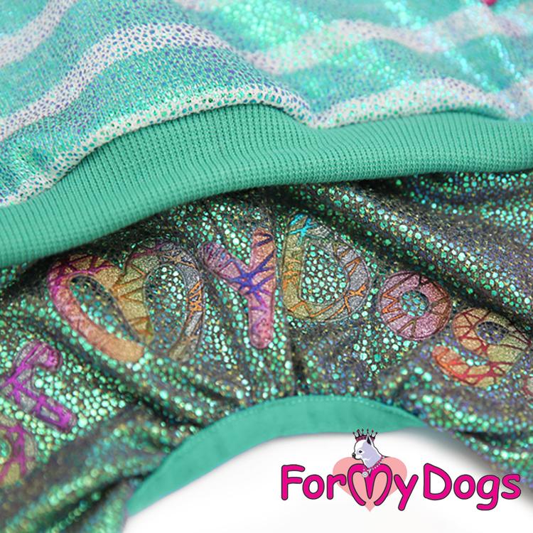 "Mysdress pyjamas overall ""Grön glitter"" UNISEX ""For My Dogs"""