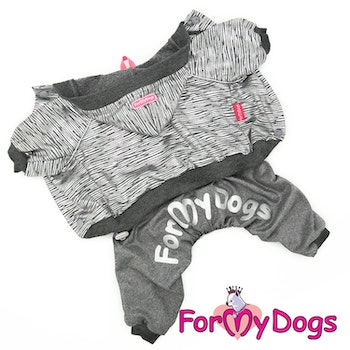 "Mysdress pyjamas overall ""Silver"" UNISEX ""For My Dogs"""