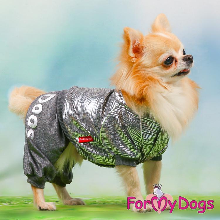 "Mysdress pyjamas overall ""Silver"" UNISEX ""For My Dogs"""