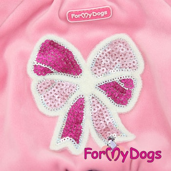 "Varm Mysdress pyjamas overall ""Rosa"" UNISEX ""For My Dogs"""