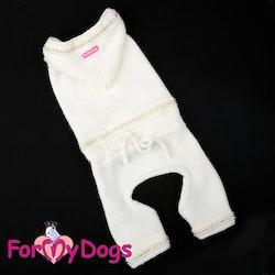 "Stickad Mysdress Pyjamas overall ""Pärlor och strass"" Unisex ""For My Dogs"""