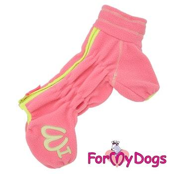 "Varm Pyjamas Overall ""Puderrosa"" Tik ""For My Dogs"""