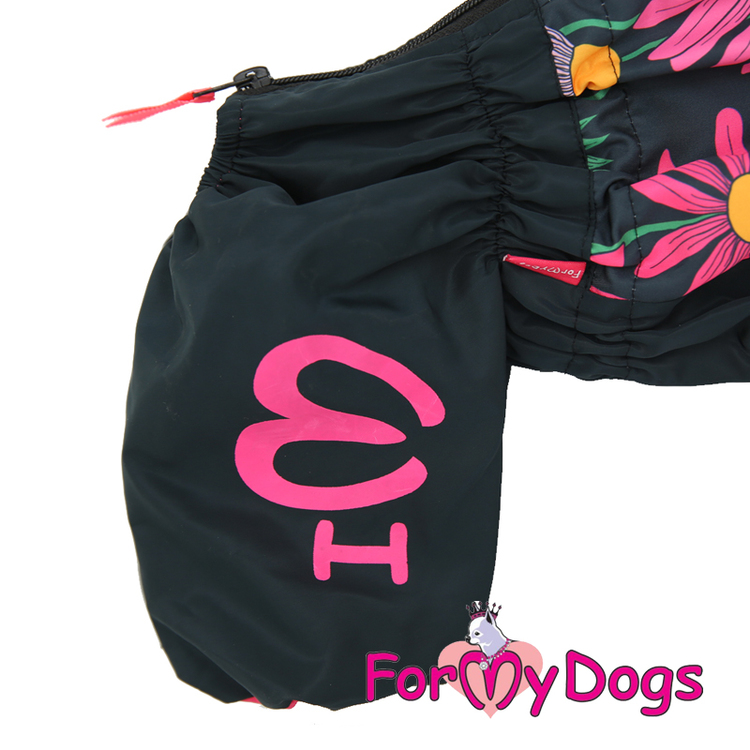 """Regnoverall """"Blommor"""" Tik """"For My Dogs"""""""
