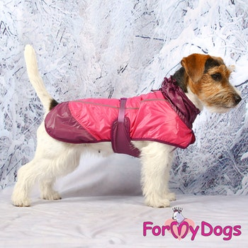 "Regntäcke Caparison ""Duo Rosa"" Unisex ""For My Dogs"""