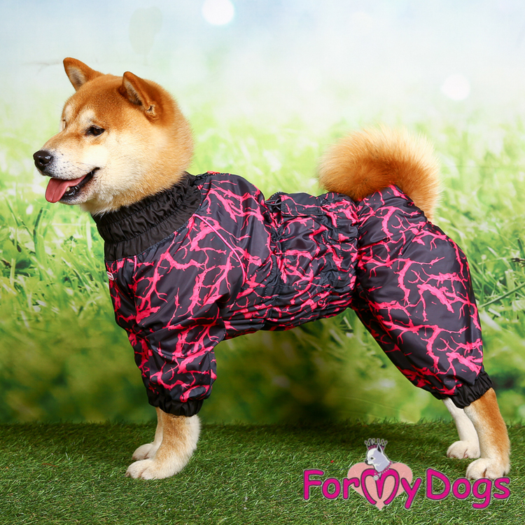 """Regnoverall """"Pink Abstract Sparkle"""" Tik """"For My Dogs"""""""