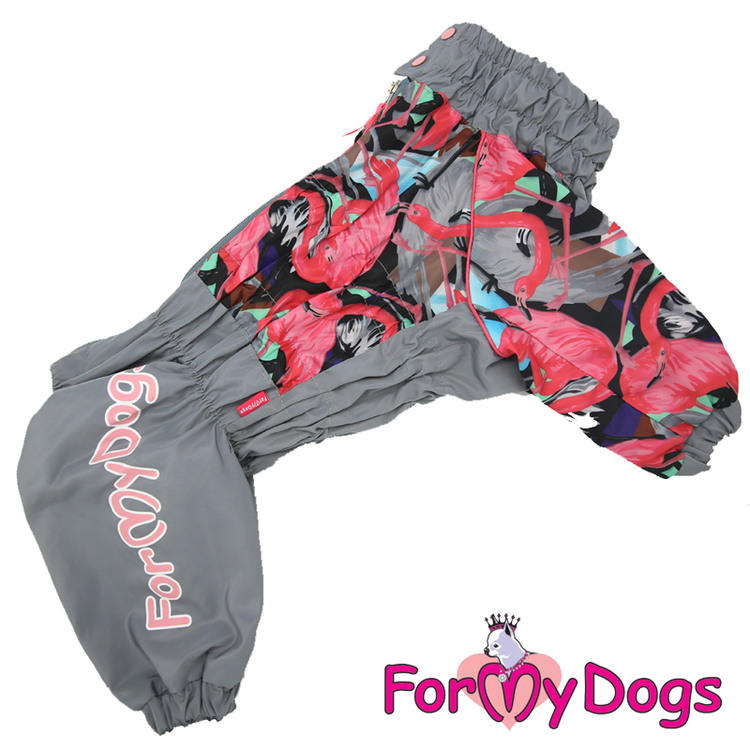 """Regnoverall """"Flamingo"""" Tik """"For My Dogs"""""""
