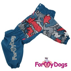 """Regnoverall """"Patchwork"""" Hane """"For My Dogs"""""""