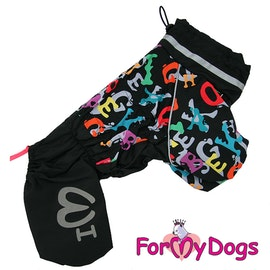 """Regnoverall """"ABC"""" Hane """"For My Dogs"""" 2021 Kollektionen"""