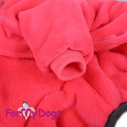 "Varm Mysdress pyjamas overall ""Black Fuchsia"" UNISEX ""For My Dogs"""