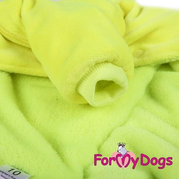 "Varm Mysdress pyjamas overall ""Black Lemon"" UNISEX ""For My Dogs"""