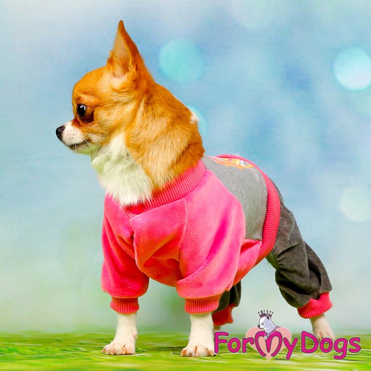 "Mysdress pyjamas overall ""Rosa Chihuahua"" UNISEX ""For My Dogs"""