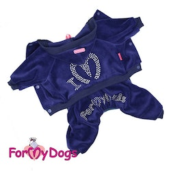 """Mysdress pyjamas overall """"Luxury One Of A Kind"""" UNISEX """"For My Dogs"""""""