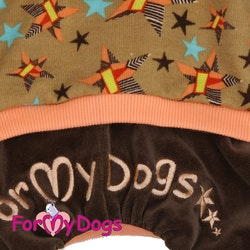 "Mysdress pyjamas overall ""Stjärnor"" UNISEX ""For My Dogs"""