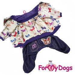 """Suit Mysdress Pyjamas overall """"Fjärilar"""" Unisex """"For My Dogs"""""""