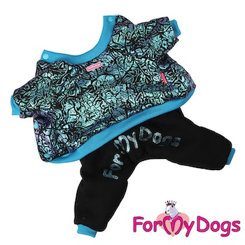 "Varm Mysdress Pyjamas overall ""Aurora"" Unisex ""For My Dogs"""