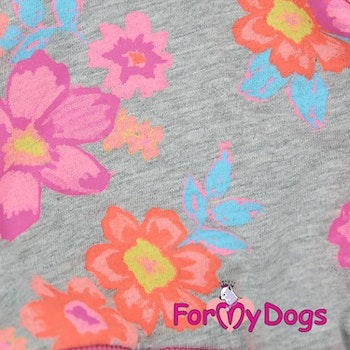 "Mysdress pyjamas overall ""Blommigt"" UNISEX ""For My Dogs"""