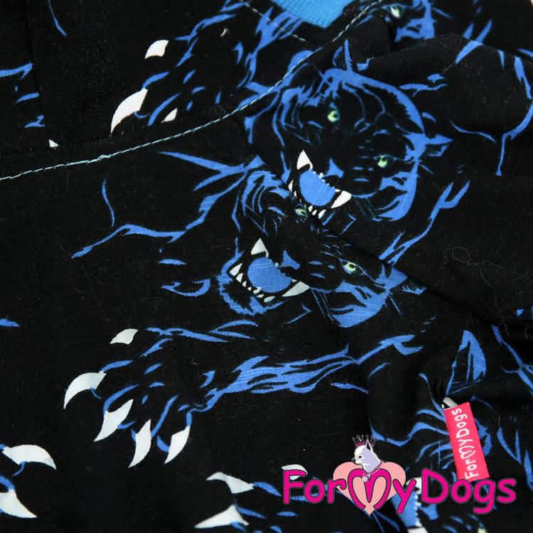"Mysdress pyjamas overall ""Blå Tiger"" UNISEX ""For My Dogs"""