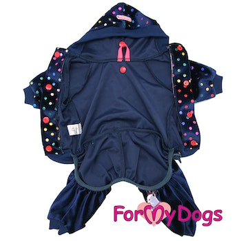 "Suit Mysdress Pyjamas overall ""Prickigt"" Unisex ""For My Dogs"""