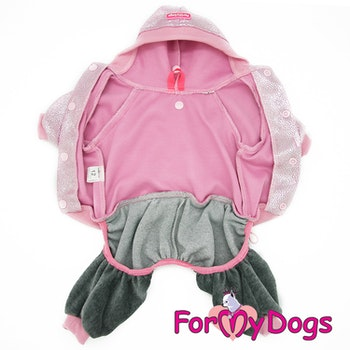 "Suit Mysdress Pyjamas overall ""Glamour"" Unisex ""For My Dogs"""