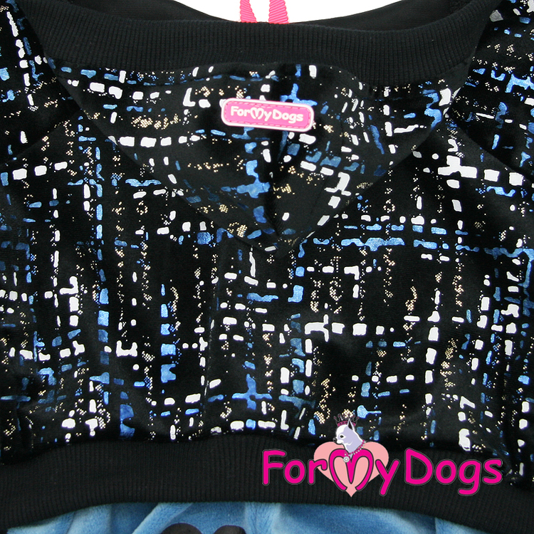 "Suit Mysdress Pyjamas overall ""ARTWORK"" Unisex ""For My Dogs"""