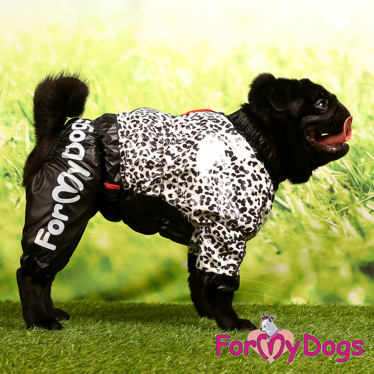 "Regnoverall ""Leopard"" Tik ""For My Dogs"""