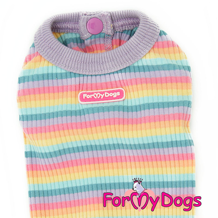 "Body ""Randig"" unisex ""For My Dogs"""