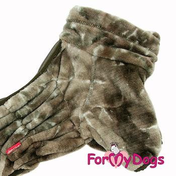 "Varm Plysh/Fleece Overall ""Brown Merle"" hane ""For My Dogs"""