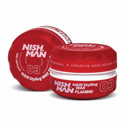 NishMan Styling Wax 03 Flaming 150ml
