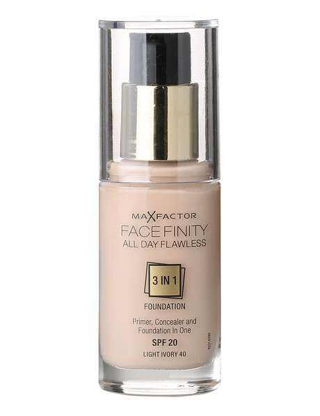 Max Factor Facefinity 3in1 Flexi Foundation 40 Light Ivory