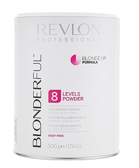 Revlon Lightening Powder 8 Levels Blonde Up Formula 750g