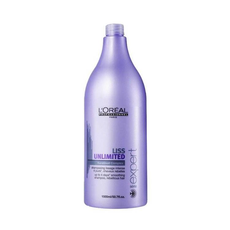 L'Oreal Serie Expert Liss Unlimited Shampoo 1500ml