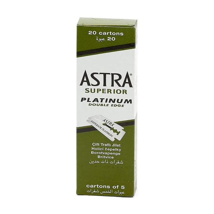 Astra Superior Platinum Double Edge 100st