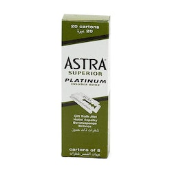 Astra Superior Platinum Double Edge 100st