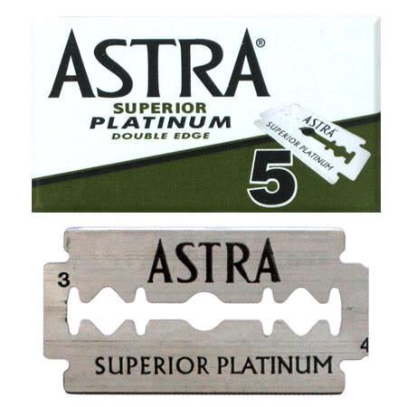 Astra Superior Platinum Double Edge 5st